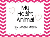 My Heart Animal Valentine's Day!