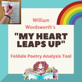 My Heart Leaps Up by William Worsdworth Foldable Poetry An