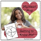 My Heart Map (Get to Know You Activity)