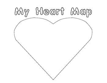 My Heart Map for Writer's Workshop