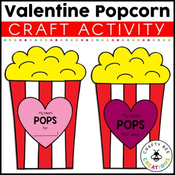 Valentines Day Craft {My Heart Pops For You}