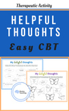 My Helpful Thoughts, CBT for children and teens, therapy,