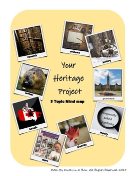 My Heritage Project - Mind Map Graphic Organizer