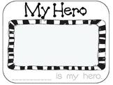 My Hero Print