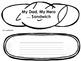 My Hero Sandwich {Father's Day Writing Craft}