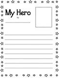 My Hero Writing Paper