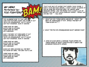 """My Hero"" by Foo Fighters Lyrics Analysis"