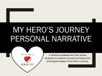 My Hero's Journey Personal Narrative