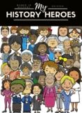 My History Heroes Women's History Edition Biography Research Packet