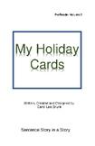 'My Holiday Cards' Volume 2 PreReader by Carol Lee Brunk C