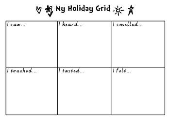 My Holiday Grid - Holiday Reflections