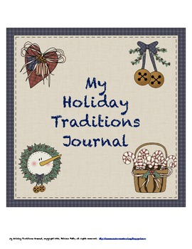 My Holiday Traditions Journal