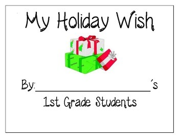 Holiday Wish Writing Paper