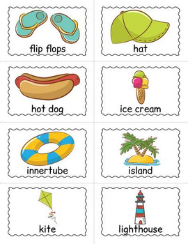 Beach Bingo Game - Beach Themed Activity