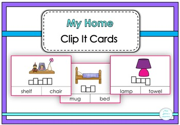 My Home Clip It Cards