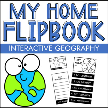 Elementary Geography My Home Craft Book Distance Learning Project What am i doing wrong ??? teachers pay teachers