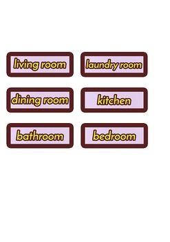 My Home House Rooms Bedroom Kitchen Laundry Room NOW WITH POGS