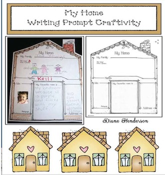 My Home: Writing Prompt Craftivity