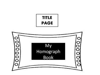 My Homograph Book
