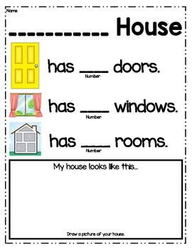 My House Home Activity