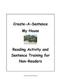 My House/My Apartment Create-A-Sentence