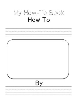 My How-To Book