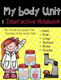 Human Body Unit and Interactive Notebook