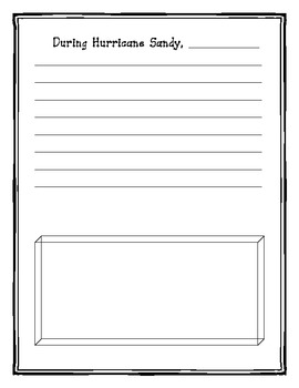 My Hurricane Sandy Journal