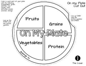 MY HUSBAND'S NUTRITION CRAFTIVITY: ON MY PLATE, HEALTH GRADES K-3