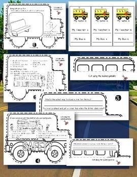 SCHOOL BUS SAFETY FLIP BOOK: GRADES K-2