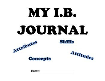 My IB Student Journal