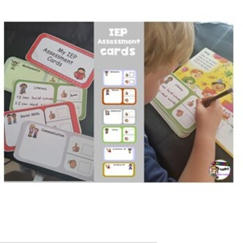 My IEP Assessment cards- Autism/ Special ED