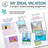 My Ideal Vacation NGSS Climate/Natural Hazards (Project-Based Learning)