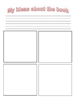 My Ideas Graphic Organizer