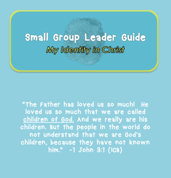My Identity in Christ Vacation Bible School Curriculum (VBS)