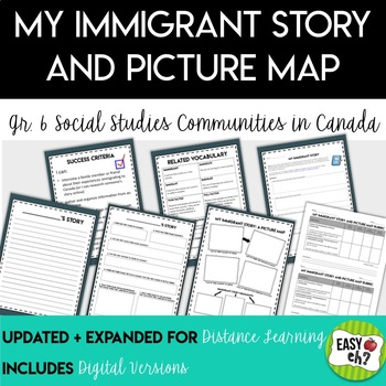 My Immigrant Story (Communities in Canada: Past and Present) Social Studies