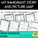 My Immigrant Story (Communities in Canada Grade 6 Social Studies Ontario)