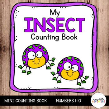 My Insect Counting Book  (0-10)