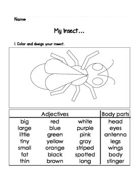 My Insect Write