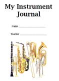 My Instrument Journal