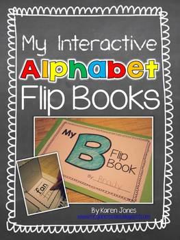 My Interactive Alphabet Flip Books
