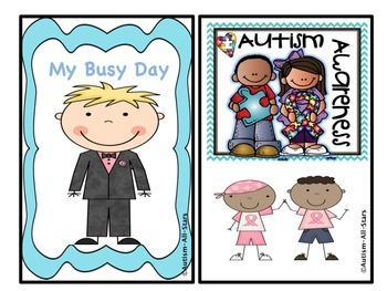 My Interactive Book: My Busy Day (Girl & Boy Version)
