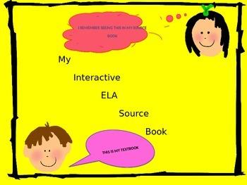 My Interactive ELA Source Book