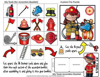 Interactive Peek Into Fire Safety Booklet