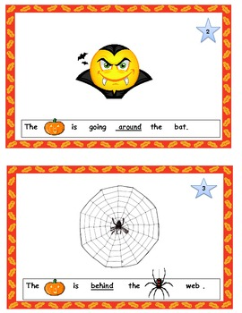My Interactive Pumpkin Position Word Book