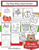 Itty Bitty Apple-Themed Booklets (LIteracy & Math Activities)