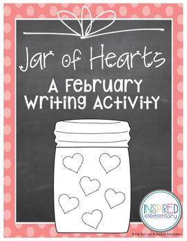 My Jar of Hearts Writing FREEBIE!