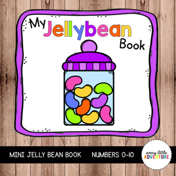 My Jellybean Book: An Easter Counting Book (0-10)