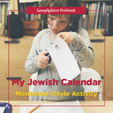 My Jewish Calendar (CHABAD)- Montessori Style Activity