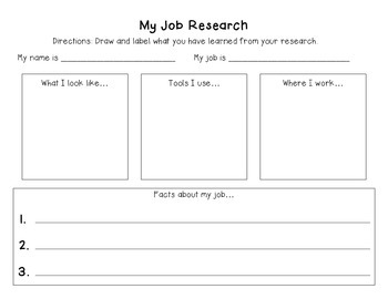 My Job Research